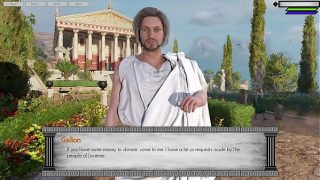 Greek Fantasy Adult RPG Game